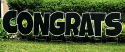 Congrats Yard Card